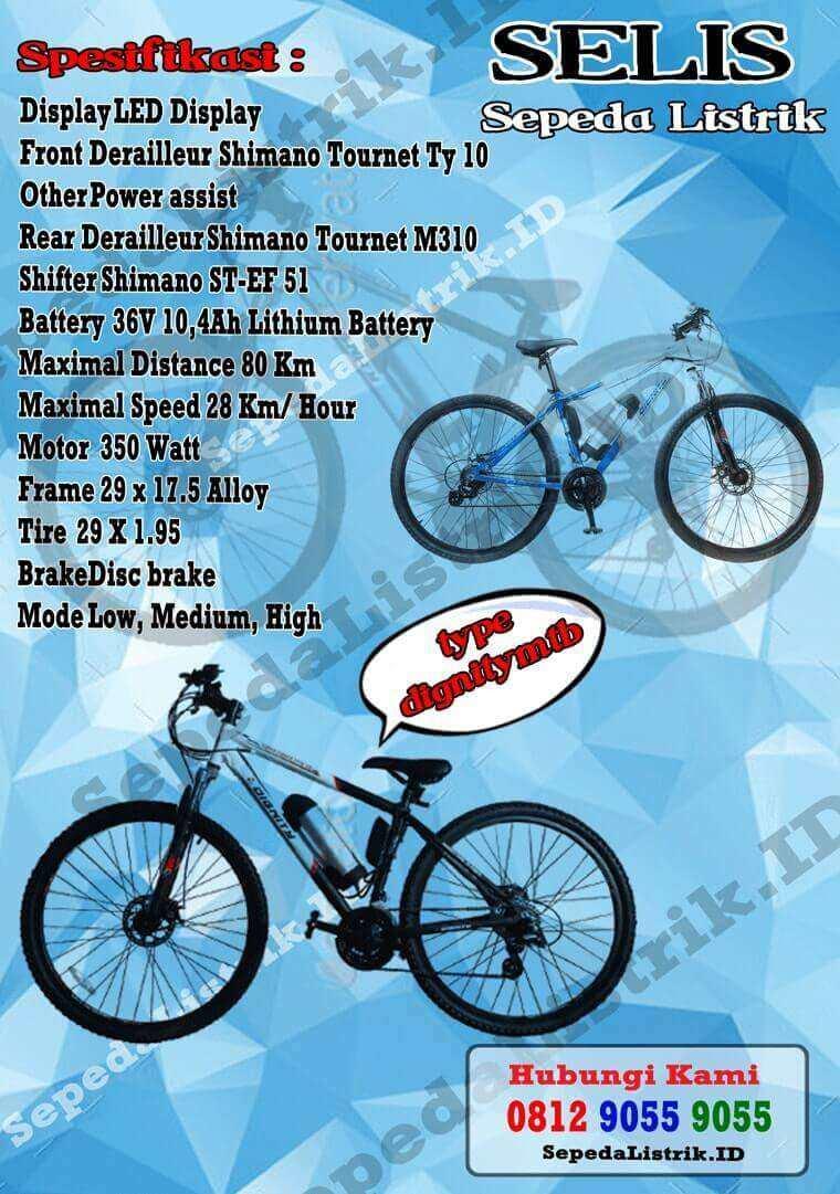 Selisid 0857 9999 9031 Wa Jual Sepeda Listrik Selis Dignity Alloy 26