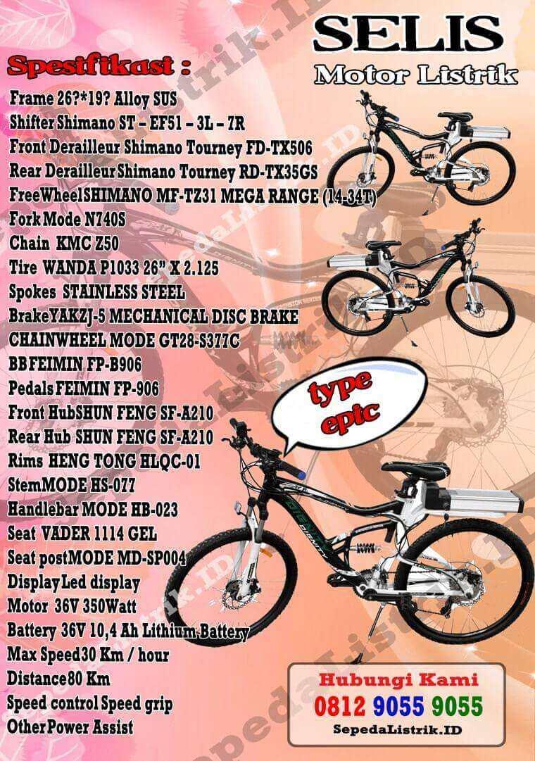 Selisid 0857 9999 9031 Wa Jual Sepeda Listrik Selis Motor Tipe Cleaning Cart Id